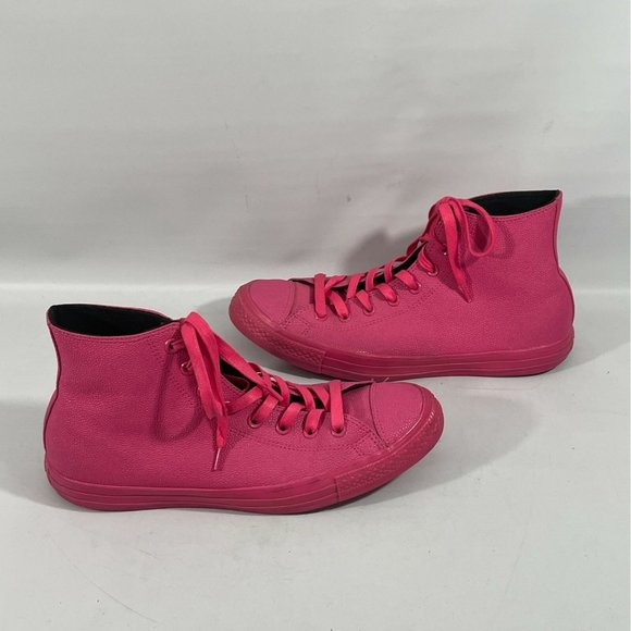 Converse Unisex Sneakers M10.5/W12.5 Pink Leather